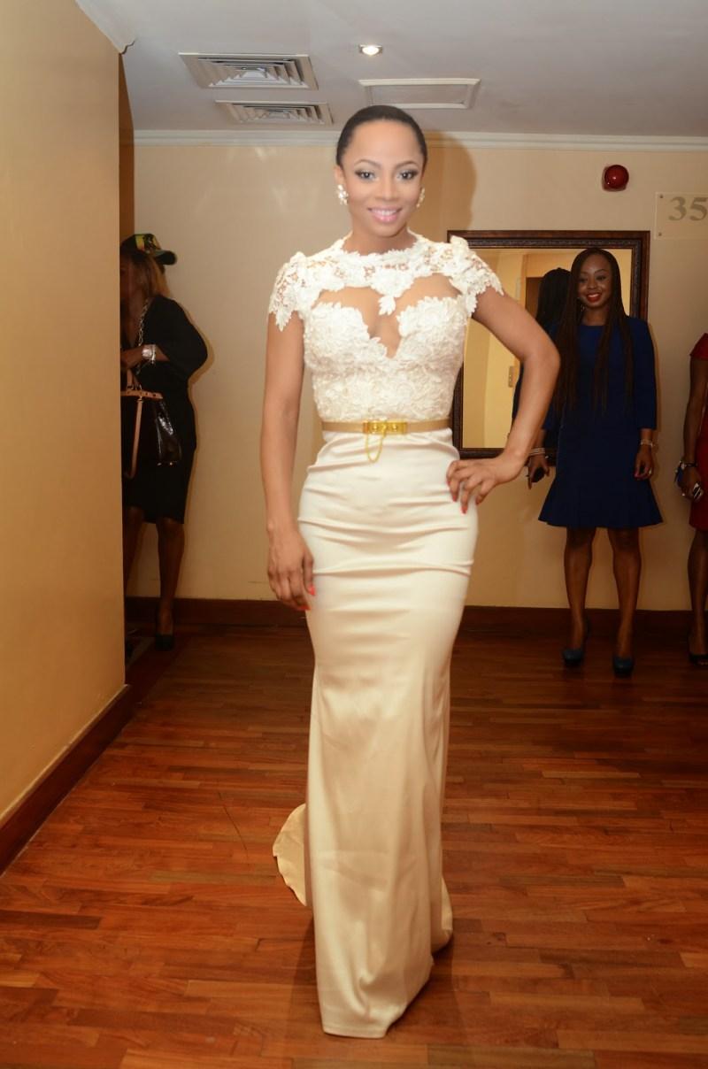toke makinwa wedding dress