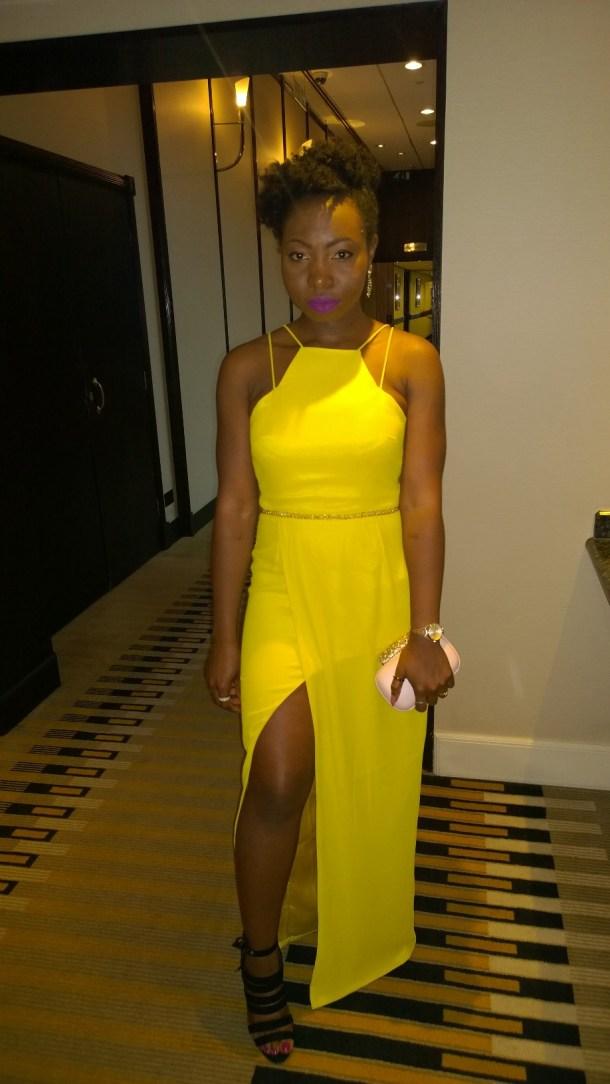 virgos lounge dress yellow