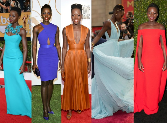lupita nyong'o top fashion and style moments