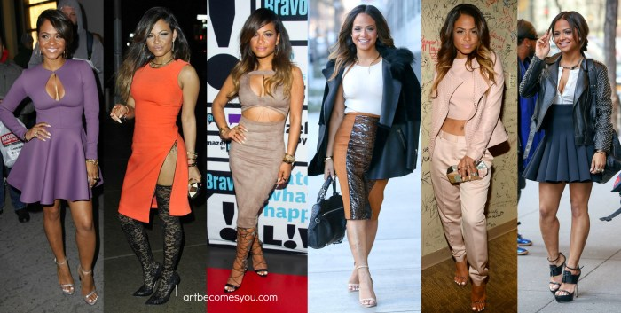 christina milian turned up outfits