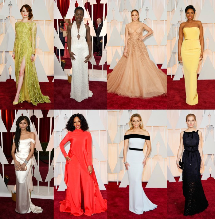 oscars 2015 celebrity red carpet fashion