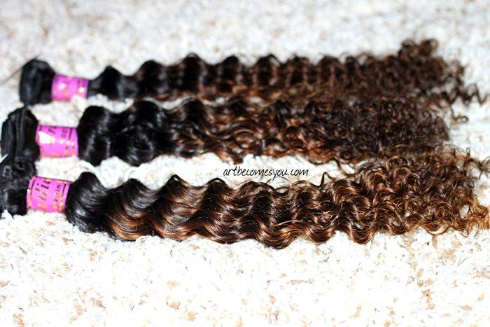 dyhair 77 brazilian natural kinky hair