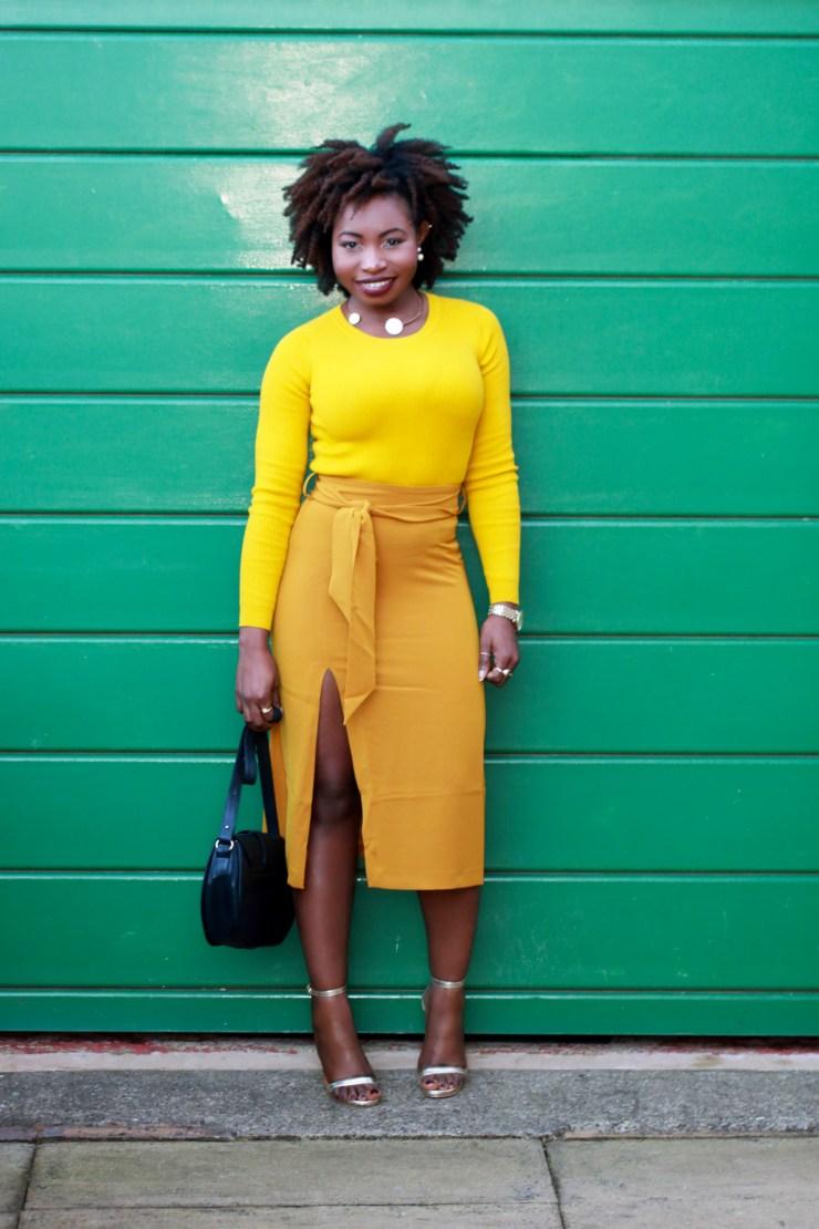 mustard monochrome a