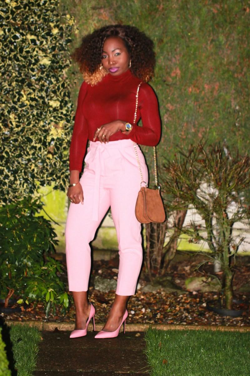 dusty pink coat 25a