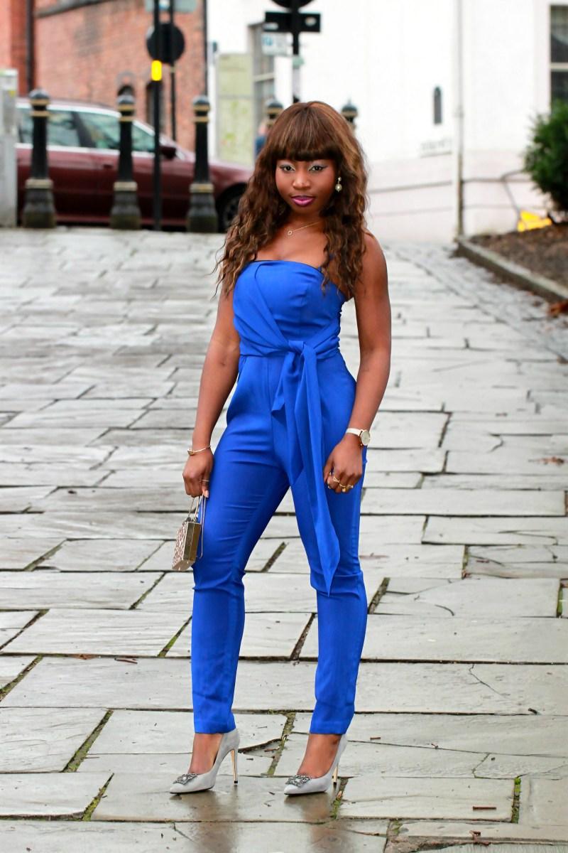 electric blue jumpsuit a