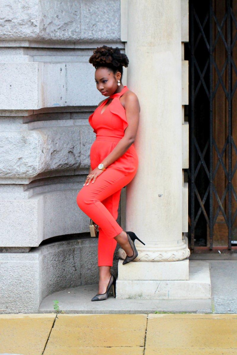 orange jumpsuit bump style a