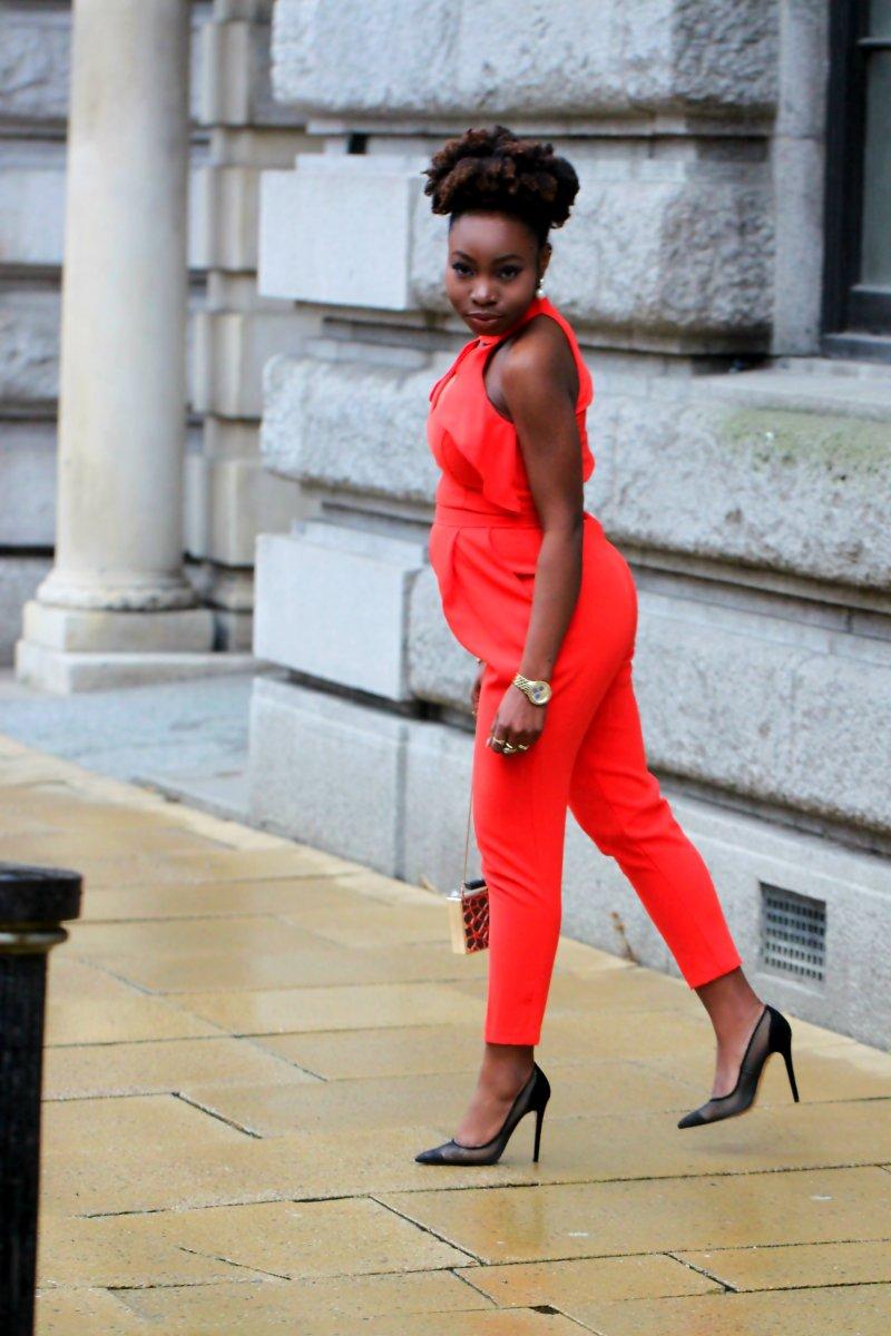 orange jumpsuit ri office shoes mesh heels a