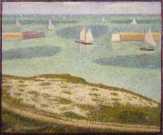 Georges-Pierre Seurat : Port-en-Bessin, 1888.