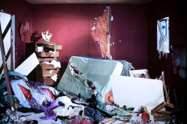 Jeff Wall Destroyed Room Art Blart
