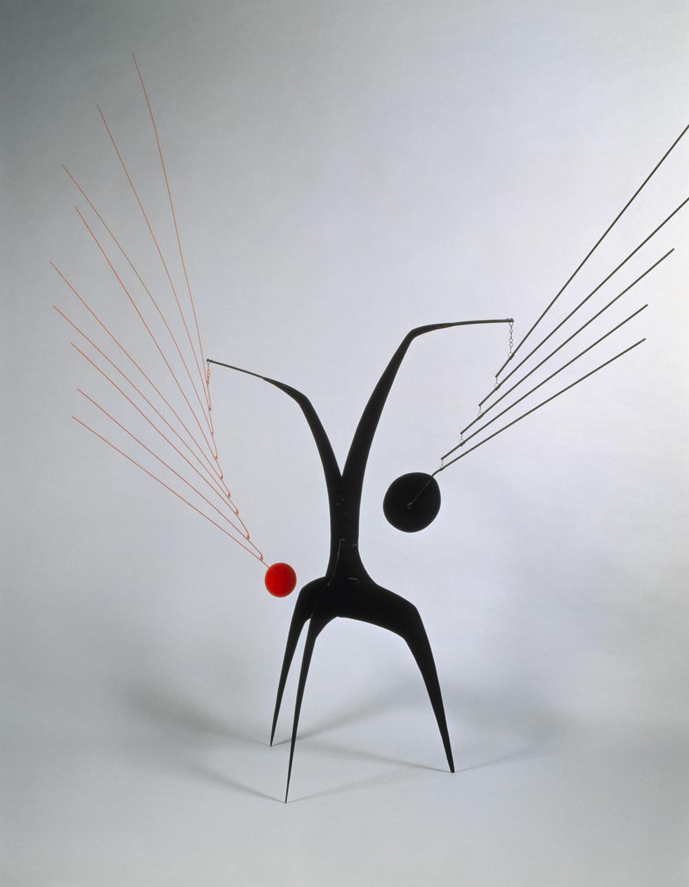 Calder mobile Art Blart