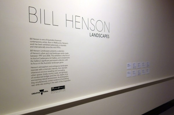 Exhibition Bill Henson Landscapes Castlemaine Art And Historical Museum Victoria