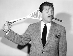Ernie Kovacs. Image provided by Photofest, New York.
