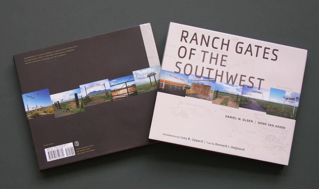 Photographic documentation of ranch gates in the Southwestern US. Photography, design, writing, and editing by Henk van Assen and Daniel Olson