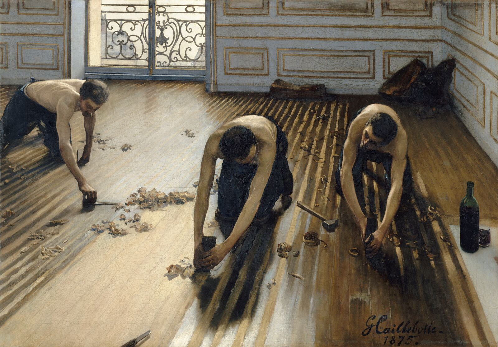 between realism and impressionism on gustave caillebotte by between realism and impressionism on gustave caillebotte by marnin young