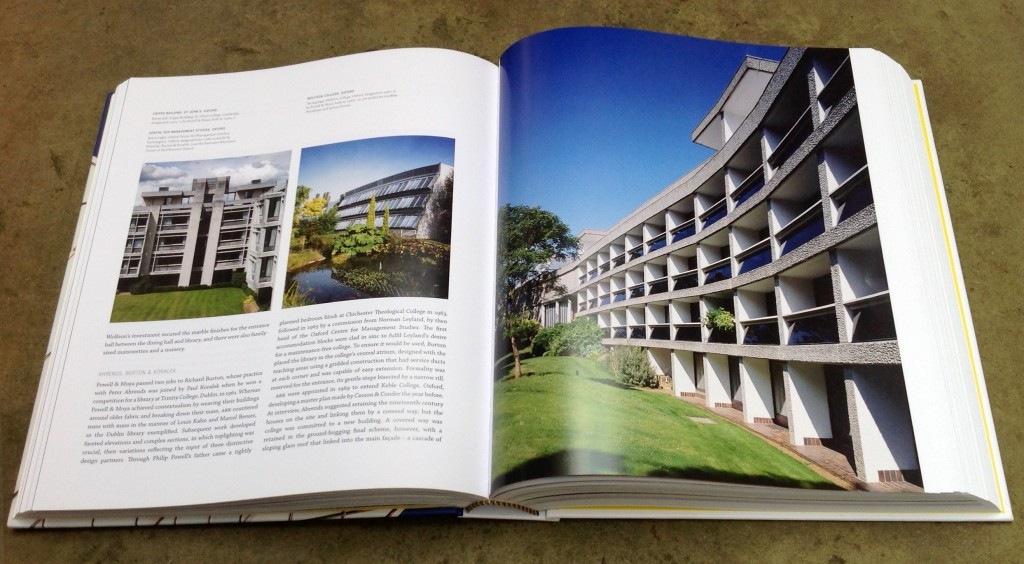 Wolfson College, Oxford, designed in 1967-8 by Powell & Moya, built in 1968-74