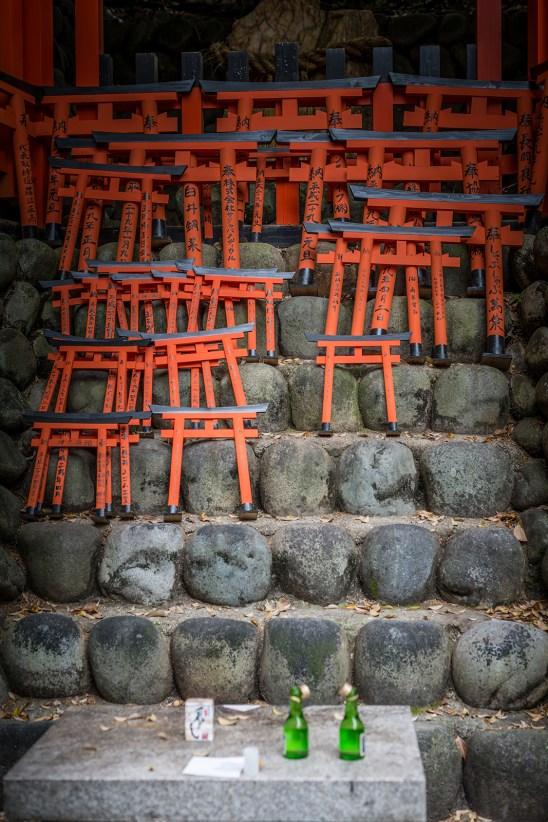Votive Torii of of Fushimi Inari, Kyoto