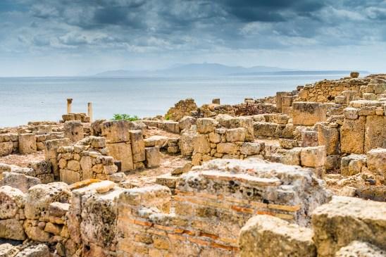 Tharros archeological area, Sinis peninsula