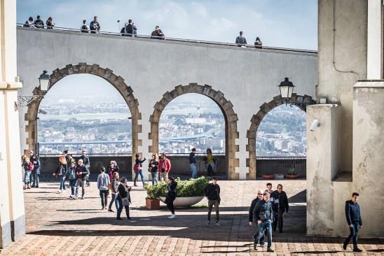The citadel, Fortress Sant'Elmo