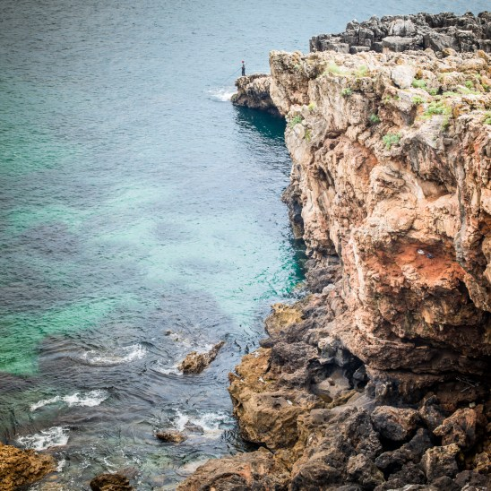 Aside the Boca do Inferno (Hell's mouth cliffs), Cascais
