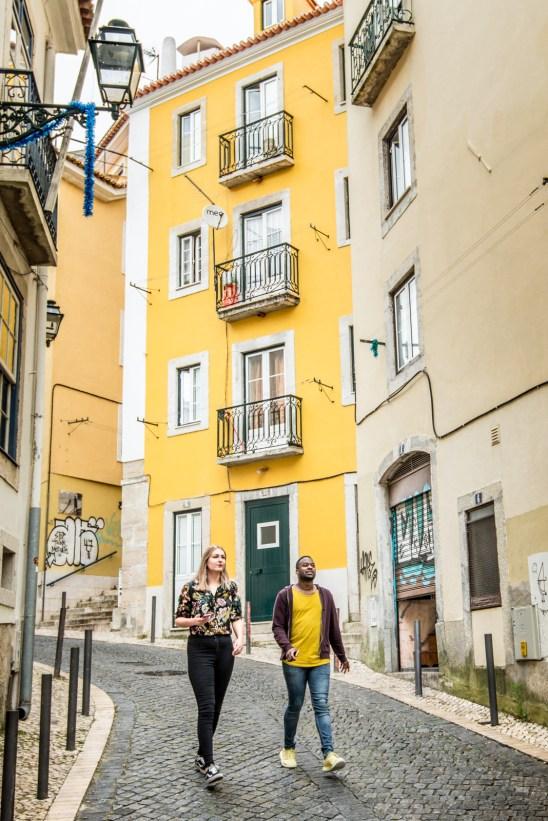Castle area, Lisbon