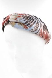 leaf print hair band - accessories