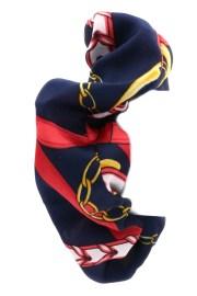 chain print hair tie - accessories