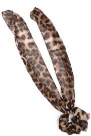 leopard print hair tie - accessories