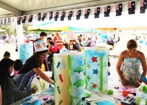 Australia Day art workshop