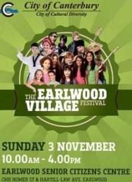 Earlwood Village festival flyer