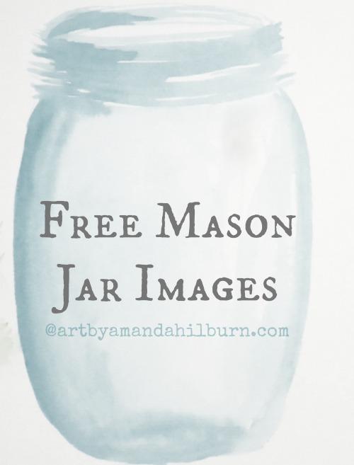 Free Mason Jar Images
