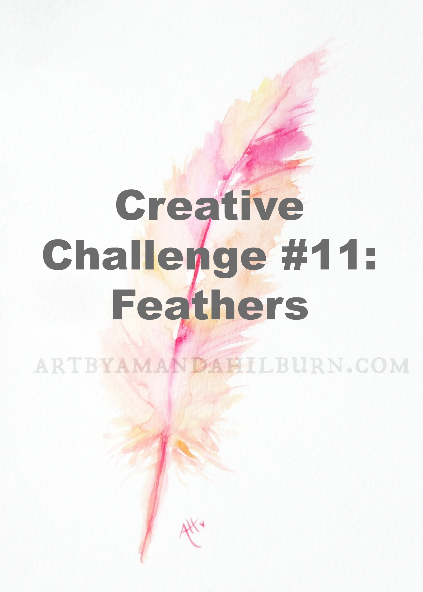 Creative Challenge #11: Feathers