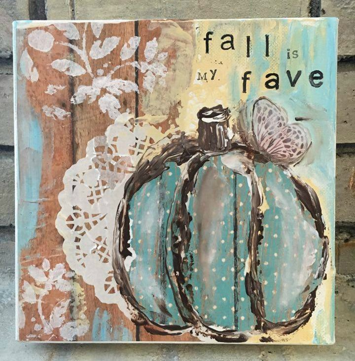 Fall is my Fave   SOLD