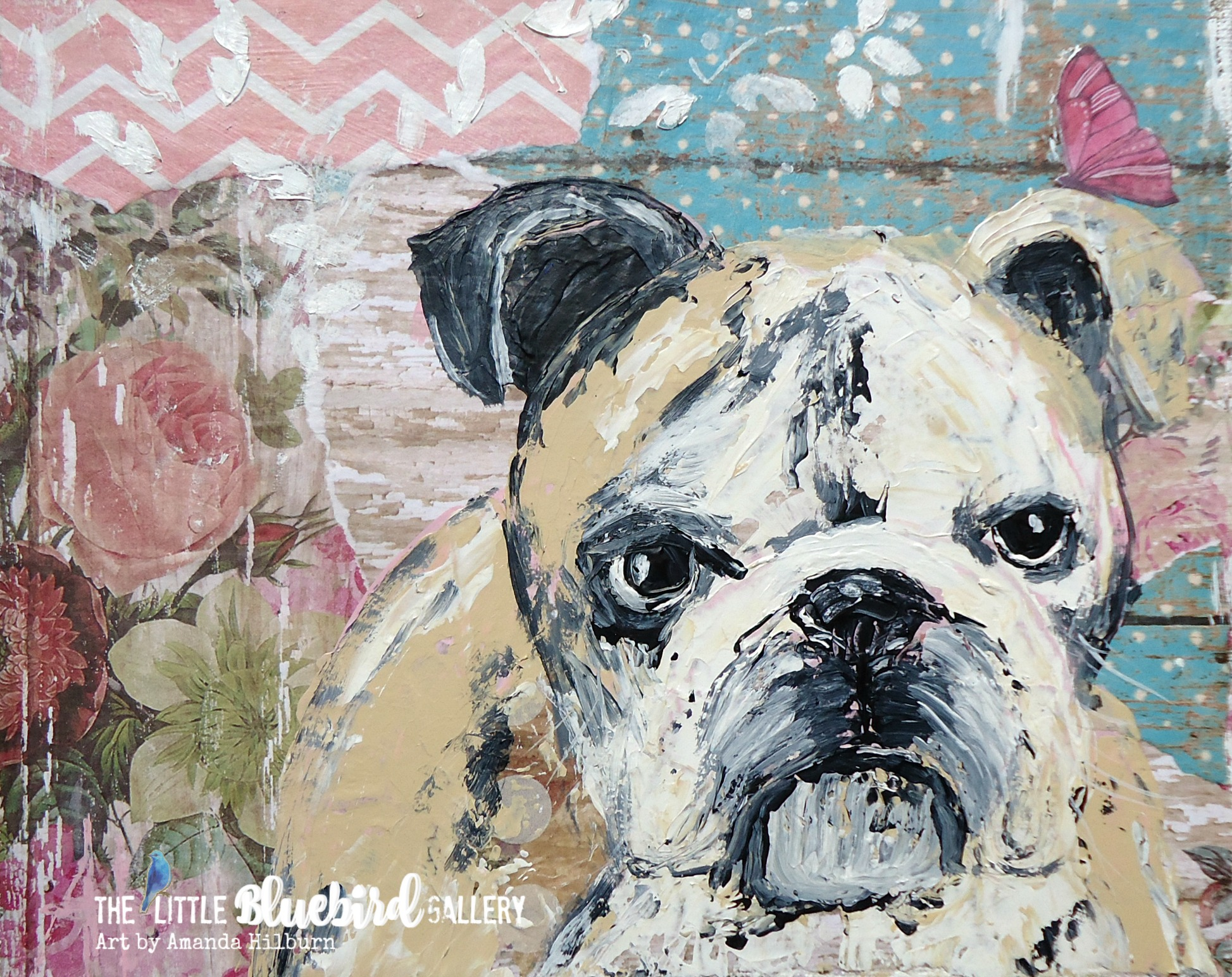 Holly The Bulldog Print