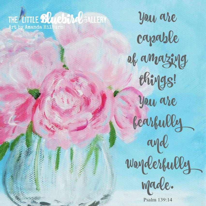 Fearfully and Wonderfully Made Print