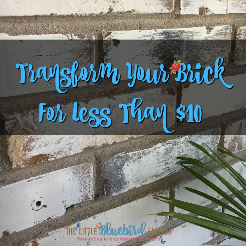 Transform Your Brick For Less Than $10
