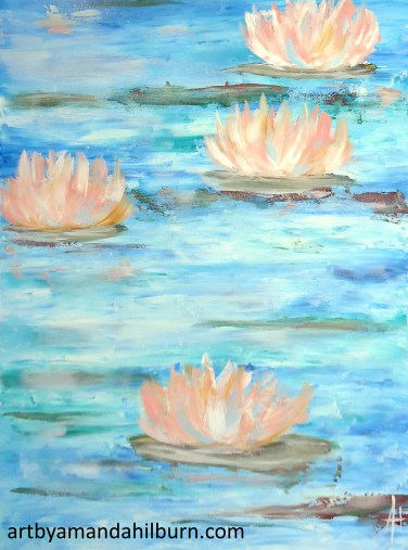 Waterlilies wm