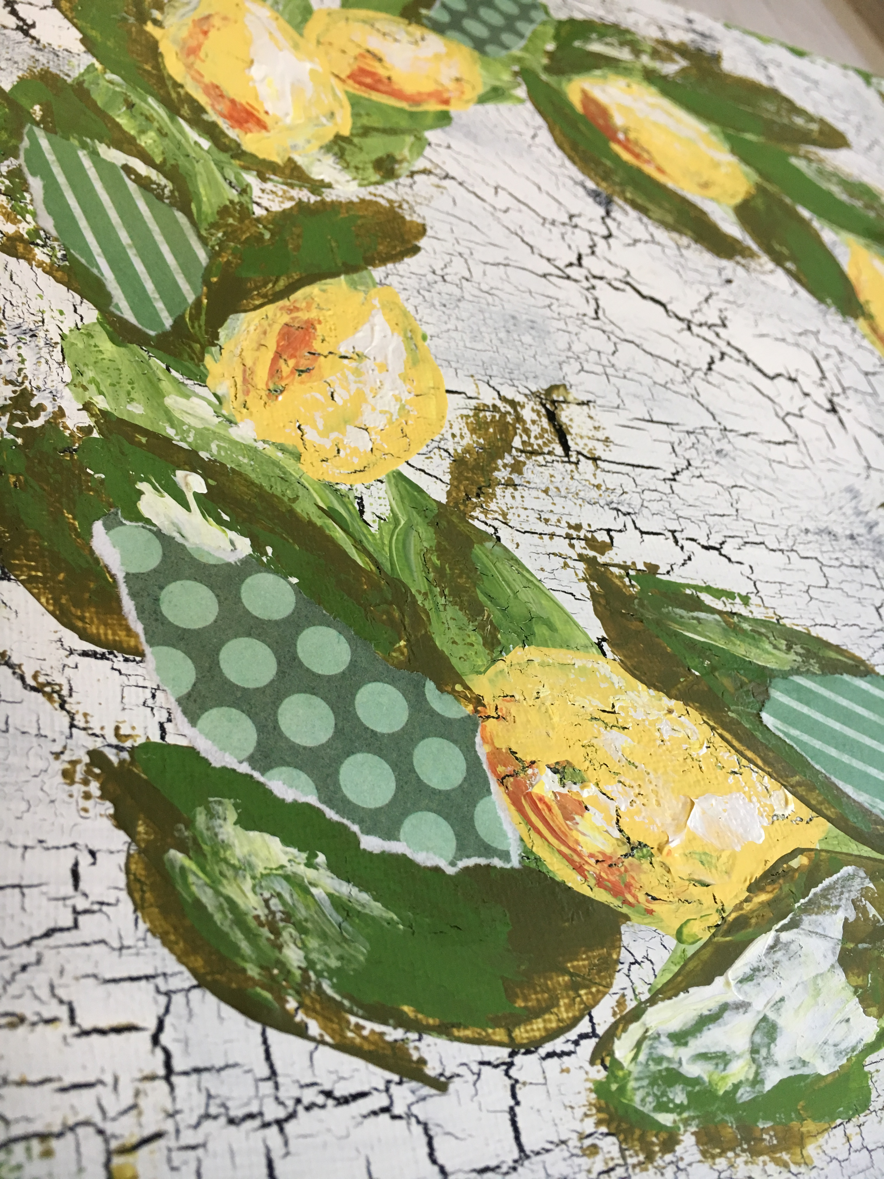 Happy Lemon Wreath by Amanda Hilburn