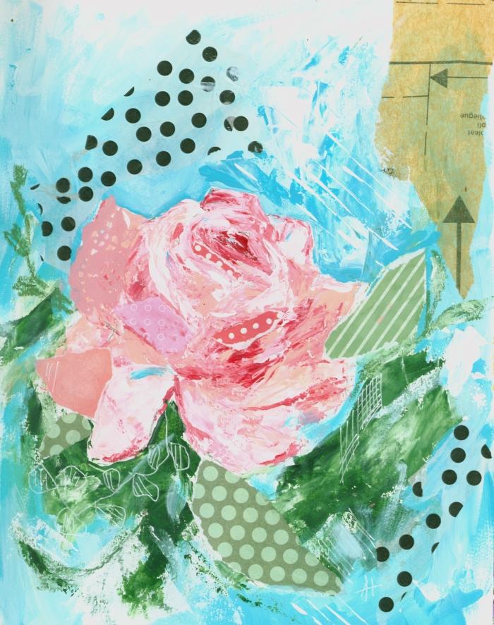 Happy Rose Print