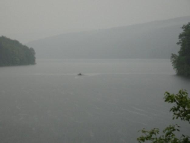 On the Pepacton Reservoir