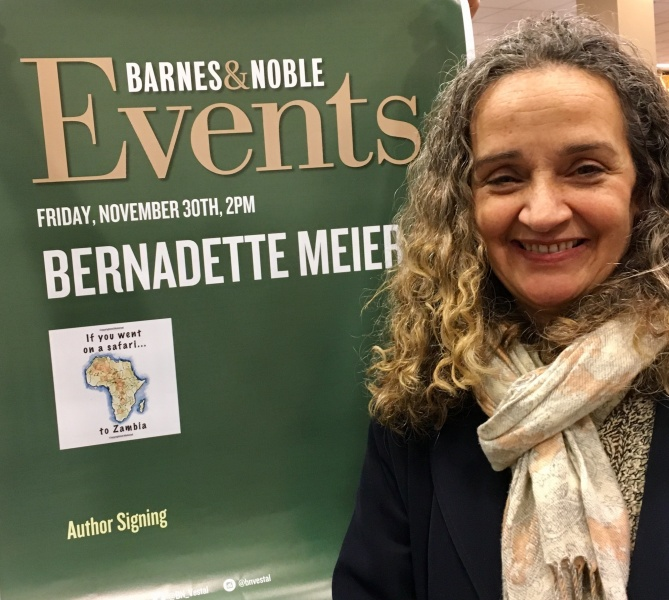 Bernadette at B&N