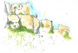 View of Les Baux 2