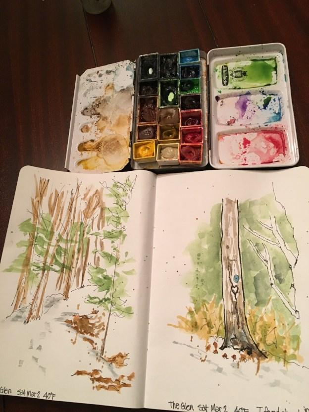 Sketches in the Glen