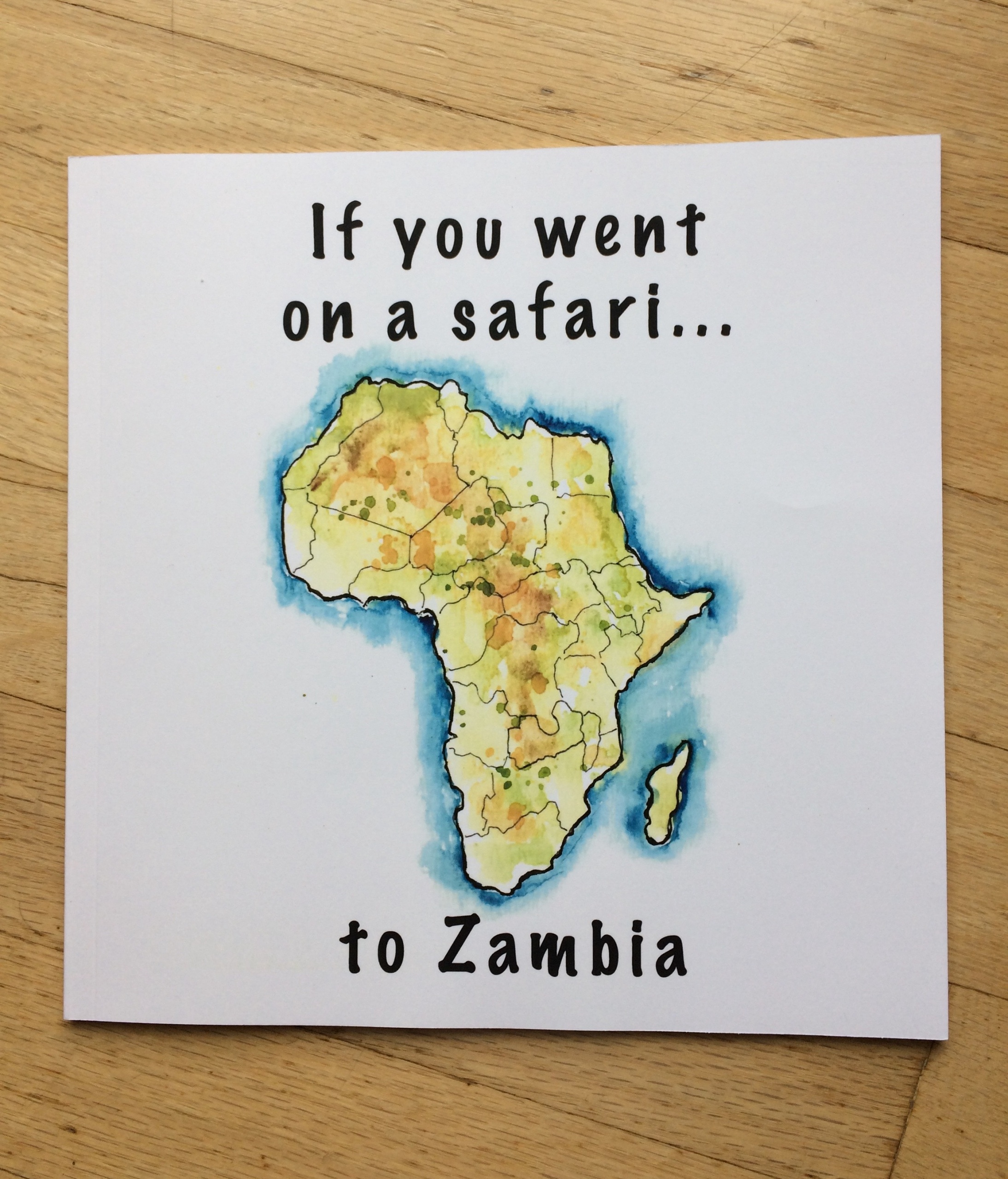 Book If you went on a Safari to Zambia