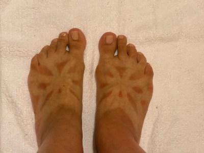 Weird tan lines