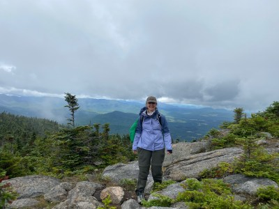 Cascade mountain view
