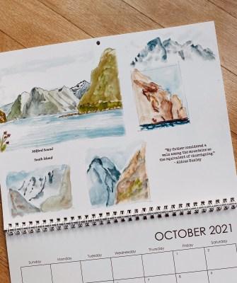 2021 calendar New Zealand