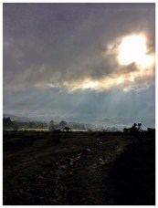 Clouds up slievenamon
