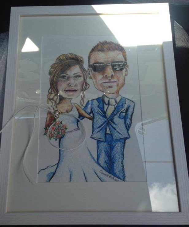 Wedding anniversary present- excuse the bad photo