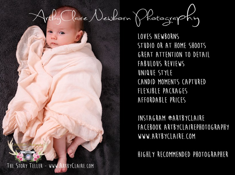 Book your shoot, Newborn Baby Photography by ArtbyClaire Photography