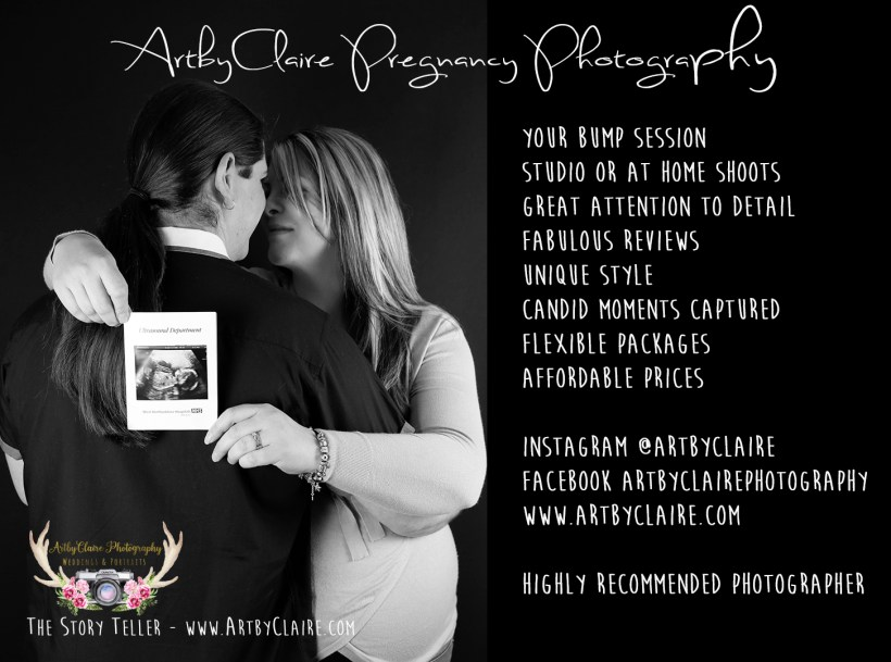 Come along to celebrate your baby bump in my studio - and bring your first scan - a great way to remember and celebrate your special baby with one of these fab little shoots. Available to buy as Gift Voucher for someone too.